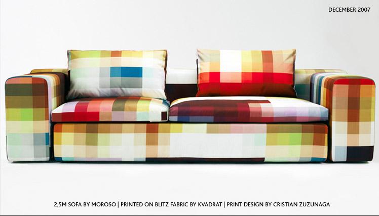 Пиксельный диван