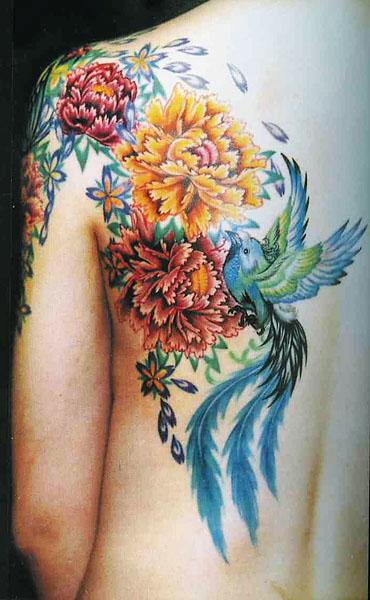 Японская татуировка для женщин