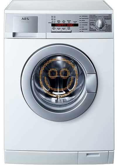 Хэппи-энд для стиральной машинки waschmaschine Bosch