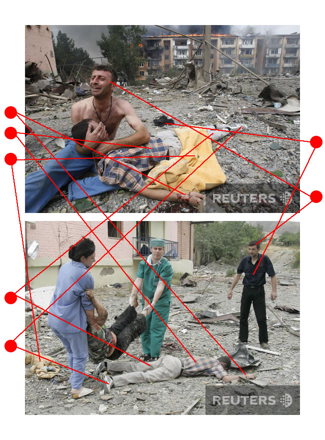 Подделка или постановочное фото из разбомбленной Грузии