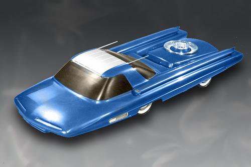 Ford Nucleon - атомный автомобиль Америки