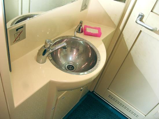 Туалет в вагоне Новосибирск - Красноярск