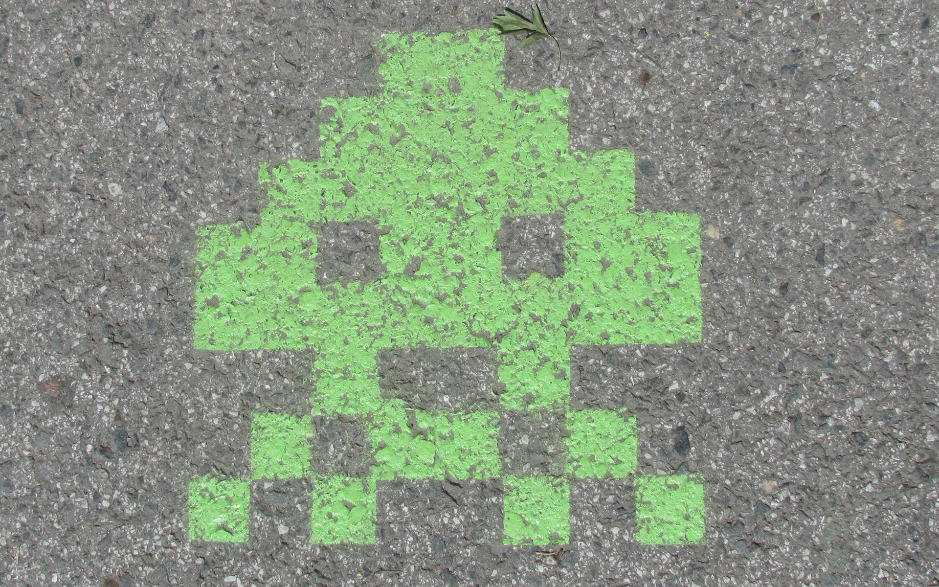 Space Invaders и Пэкмен в Томске