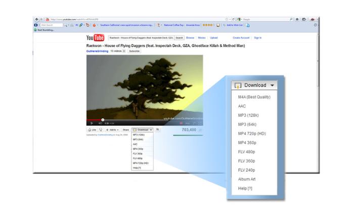Easy Youtube Video Downloader - мой любимый плагин для Youtube